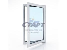 Пластиковое окно одностворчатое Brusbox 60-3 ACLASS